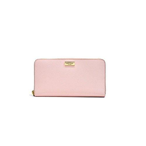 Kate-Spade-Newbury-Lane-Neda-Saffiano-Leather-Zip-Around-Wallet-Light-Pink
