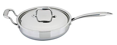 Engel-Riviere All-Ply Copper Core Saute Pan, 3.2 quart