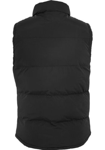 URBAN CLASSICS Contrast Bubble Vest TB299 black/red XXL