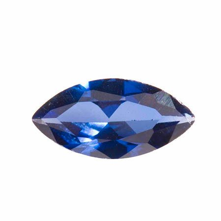 WireJewelry 14x7mm Marquise Sapphire Cz - Pack Of 1