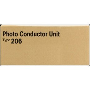 Ricoh Ap206 Type - 400511 Genuine Ricoh Photoconductor, Type-206, 60000 Page-Yield, Black