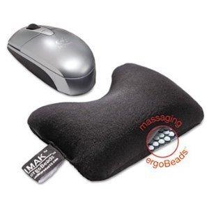 Amazon.com: Cojín de Muñeca para mouse, color negro por reg ...