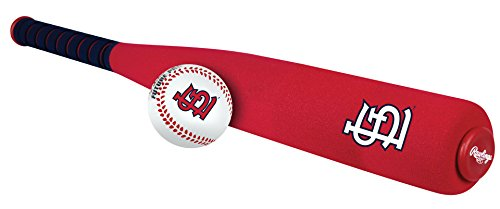 Louis Ball Long Cardinals (MLB Foam Bat and Ball Set St. Louis Cardinals,One Size,Red)