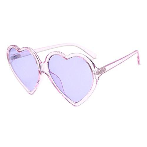 (Halfbye Vintage Heart Shape Sunglasses for Men/Women Classic Retro Designer Style Leopard Eyewear UV400 )