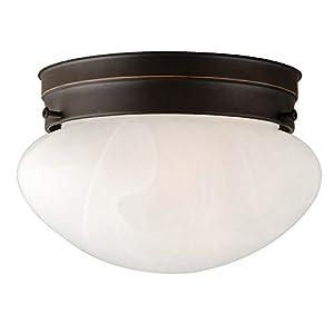 Design House 514547 Millbridge 1 Light Ceiling Light, Oil Rubbed Bronze