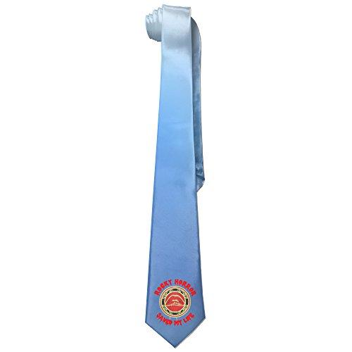 [Ggift Rocky Horror Show Lips Men's Fashion Business Solid Necktie Tie] (Rocky Bullwinkle Costume)