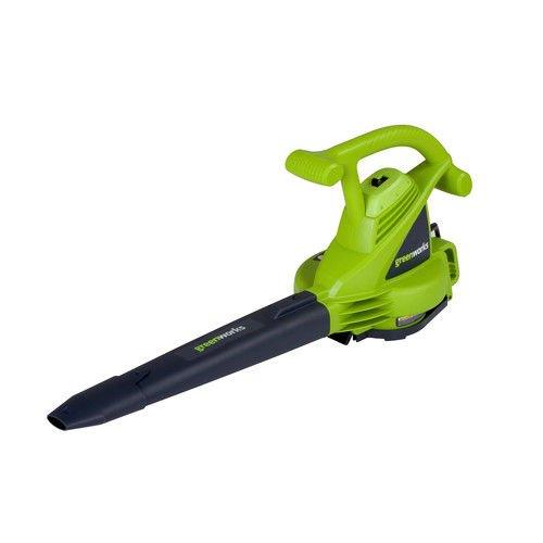 Greenworks 12 Amp Variable Speed Corded Blower/Vacuum 24072 by Greenworks