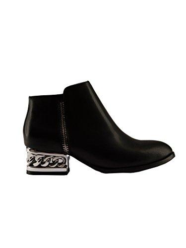 Jeffrey Campbell - Zapatos de vestir de Piel para mujer negro negro