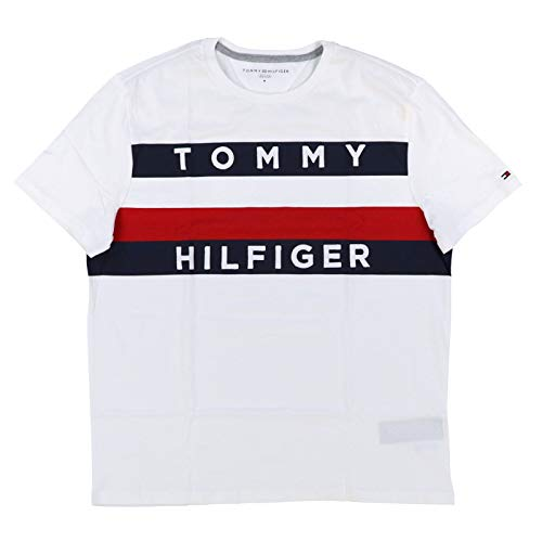 55b76b805 Tommy hilfiger logo tops t shirts the best Amazon price in SaveMoney.es