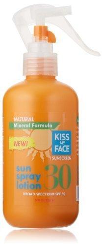 Kiss My Face Natural Mineral Sun Spray SPF 30 Sunscreen Loti