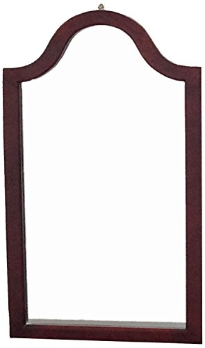 Frenchi Home Furnishing Wall Mirror in Cherry Finish