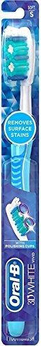 Oral-B 3D White Advantage Soft Vivid Toothbrush 1 ea (Pack of 5)