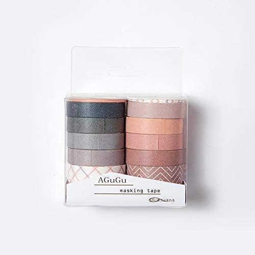 10pcs / pack Estilo Vintage Inglaterra Washi Tape la decoración de DIY Scrapbooking Planificador de cinta adhesiva de la etiqueta autoadhesiva de escritorio: Amazon.es: Hogar