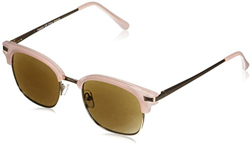 Peepers Women's Water Color Reading Sunglasses Square, Pink_Gold, 1.75 ()