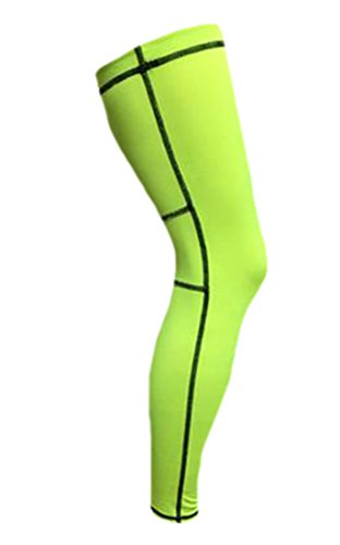 Asterisk Cell Knee Brace - KXP Support Compression Lycra Improved Circulation Compression Breathable Single Wrap green M