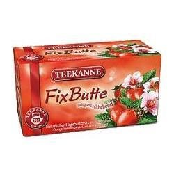 Fix Butte (Rosehip & Hibiscus) Tea Bags 50 tea bags by Teekanne