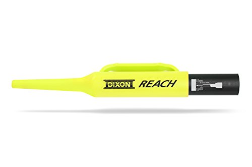 Dixon Permanent Pen - DIXON Industrial REACH- Deep Hole Permanent Marker, Black, 1-Count (14201)