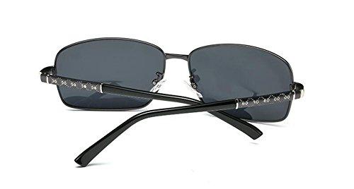 Pistolet de vintage métallique de lunettes du inspirées polarisées Cadre style rond retro en cercle Lennon soleil aw6qRxwZ
