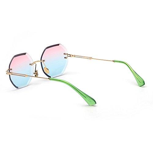 sin Sol UV400 Octagon Marco TL Sunglasses Mujer Gafas de YcUCaUETqw