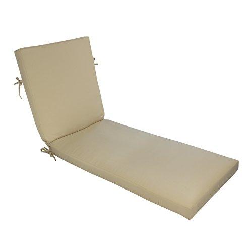 Comfort Classics Inc. Sunbrella Outdoor Boxed Chaise - Outdoor 23w Cushion