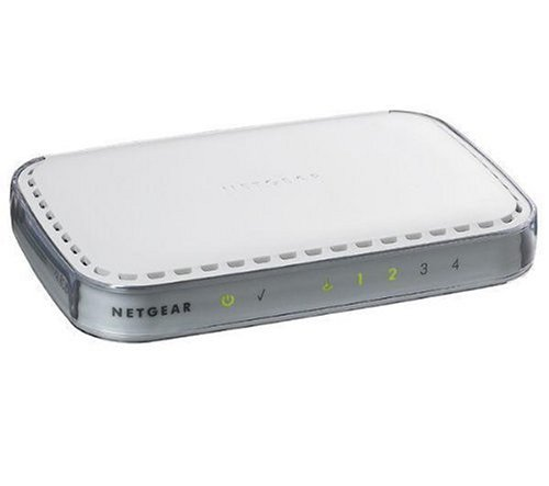 NETGEAR RP614 Web Safe Router with 4-Port 10/100 Mbps Switch by NETGEAR