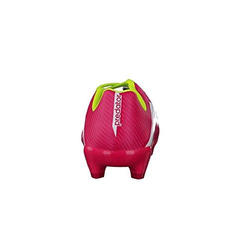 adidas Predator Absolado LZ TRX FG - Zapatillas de fútbol infantiles - pink / lime / weiß