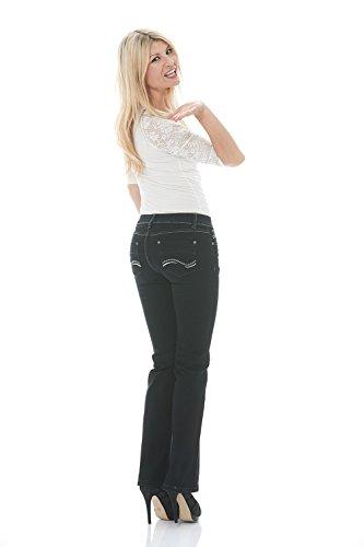 70219c3d0a3 Suko Jeans Women s Boot Cut Stretch Denim - Mid Rise Pants