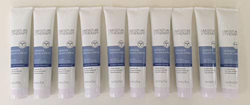 Moisture Avon Lotion Therapy (Lot of 10 Avon Moisture Therapy Intensive Healing & Repair Hand Cream Extra Dry Skin 4.2 Fl Oz. Fragrance Free)