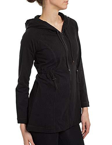 SPANX Ath-Leisure Activewear Jacket Pant Set QVC, Black, ()