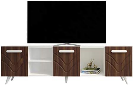 Decorotika - Mueble para televisor (70 Pulgadas, Centro de Entretenimiento con 3 armarios de Almacenamiento para Salas de Estar pequeñas, para televisores de hasta 70 Pulgadas): Amazon.es: Juguetes y juegos
