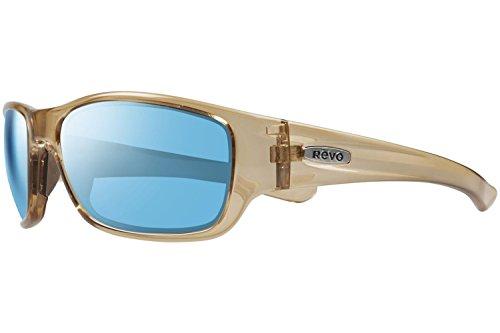 Revo Heading Sunglasses, Shiny Sol Frame, Blue Water 59mm Lenses, part of the Serilium - Parts Revo Sunglasses
