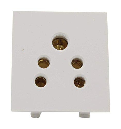 HOSPER 6 Amp 5 Pin Socket  Ivory