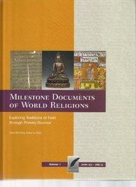 Books : Milestone Documents of World Religions-Volume 1