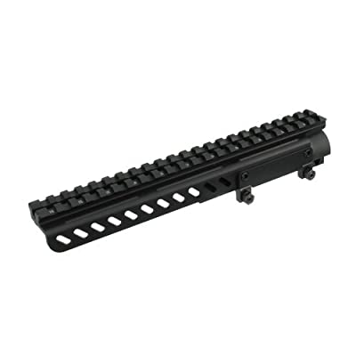 UTG PRO SKS Receiver Cover Mount w/22 Slots, Shell Deflector from LEABG