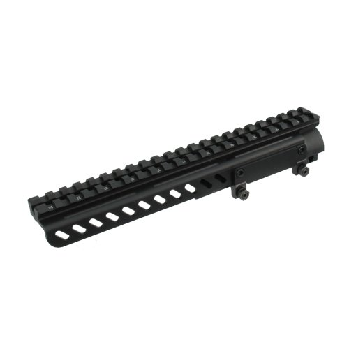 UTG PRO SKS Receiver Cover Mount w/22 Slots, Shell Deflector ()