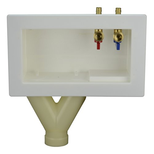 LSP OB-720-TOP Outlet Box with Wirsbo Pex Top Assembled, ...