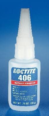"""(40640-20 g (0.7 oz.) Bottle - Prismâ 406â"""" Instant Adhesive, Surface Insensitive, Loctite- Case of 10)"""