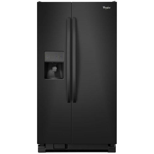 Whirlpool WRS325FDAB Black Side Refrigerator