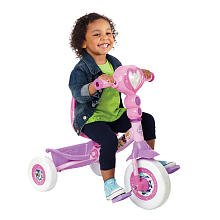 Huffy Lights and Sounds Folding Tricycle - Disney Princess by Huffy