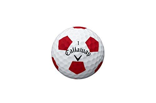 Callaway Chrome Soft Golf Balls, Prior Generation, (One Dozen), White/Truvis Pattern (Best White Paint For Hallways)
