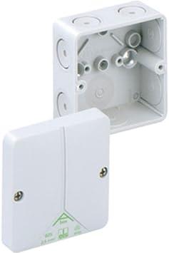 Spelsberg Abox 025-L Poliestireno caja de conexión eléctrica - Cuadro eléctrico (80 mm, 80 mm, 52 mm): Amazon.es: Bricolaje y herramientas