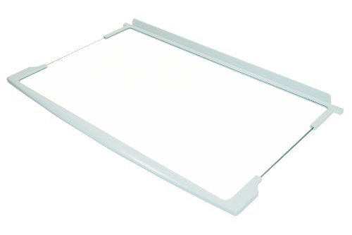 Hotpoint Fridge Freezer Glass Shelf with White Trim. Genuine part number C00285827