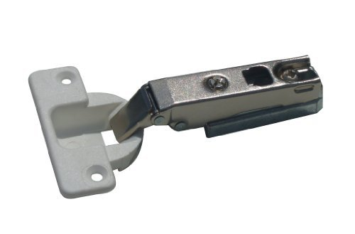 1 x Lama concealed 35mm un-sprung hinge solid metal and plastic end. by Swish
