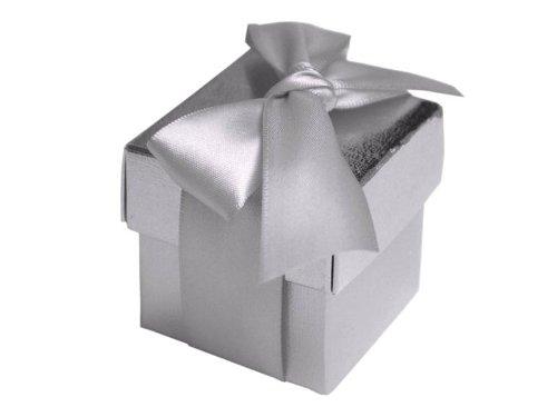BalsaCircle 100 2 pieces Wedding Party Cute Favors - Wedding Favors Silver