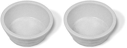 Heavyweight Crock Dish, 20-Ounce (Pack of 2) (Plastic Bowl Water)