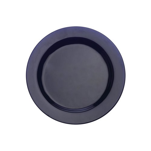 Designer Platter - Maxwell and Williams Paint 9-Inch Rim Plate, Cobalt