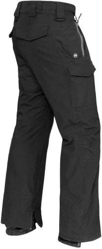 STORMTECH EP-2 Men's Ascent 2-Layer Hard Shell Pant Black/Granite Medium