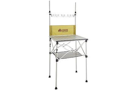 LOGOS(ロゴス) smart LOGOS kitchen クックテーブル(風防付き) 73186510 1602 - B01BUQEDQY
