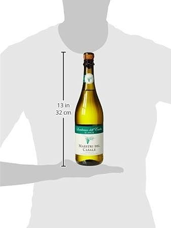 Lambrusco dell Emilia Vino Blanco Ligeramente Espumoso, 8º - 0,75 l: Amazon.es: Amazon Pantry