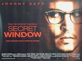 Image result for secret window movie poster